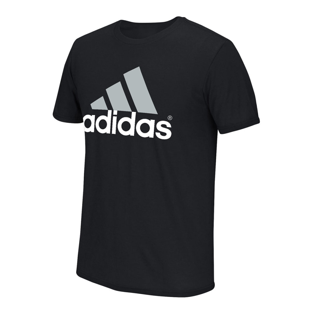 Adidas Men's Logo Tee - Black, M