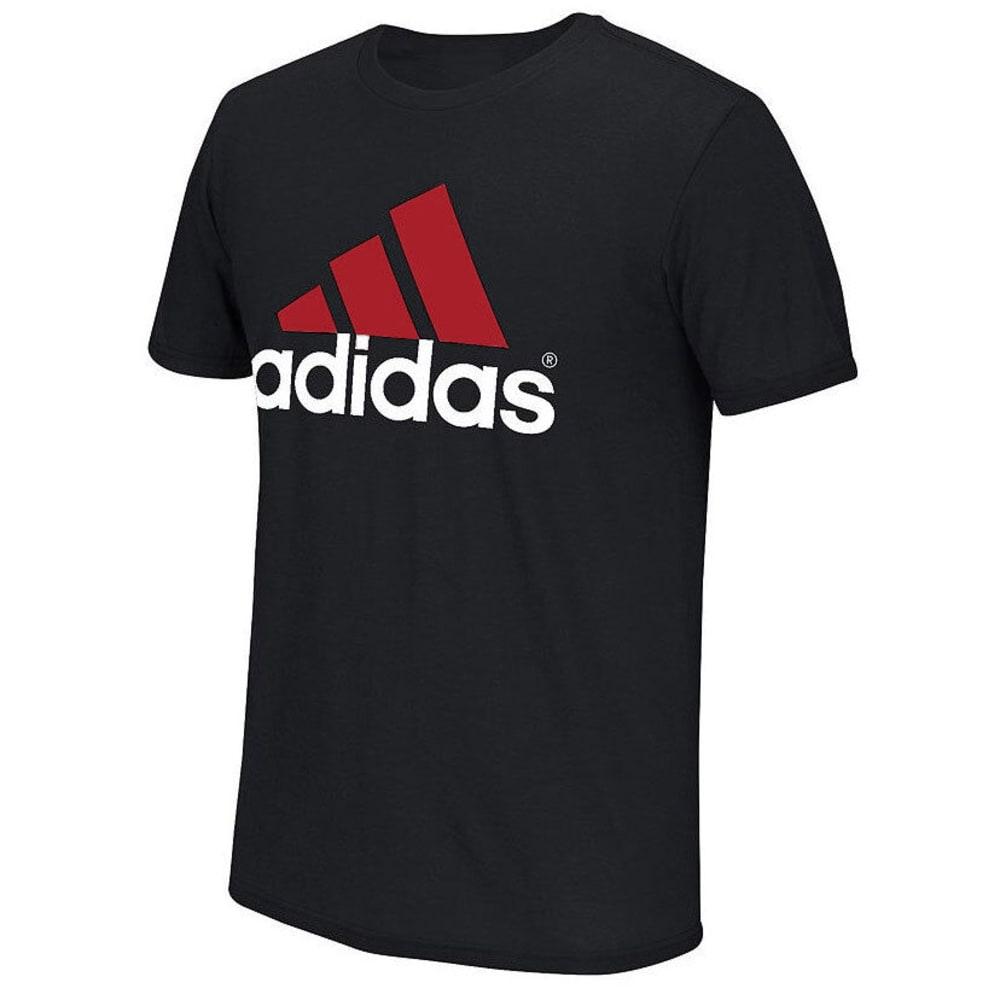 ADIDAS Men's Logo Tee - BLACK
