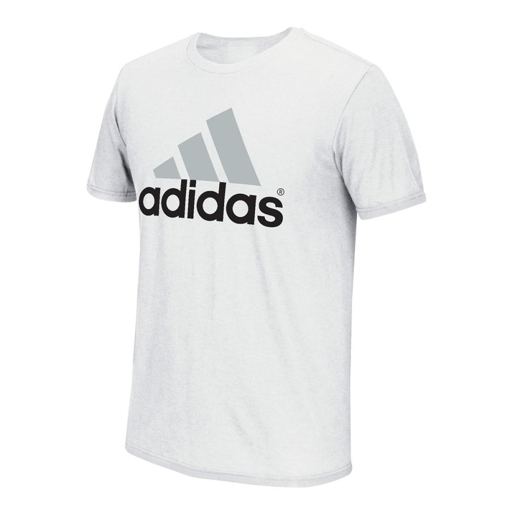 ADIDAS Men's Logo Tee - WHITE/GREY/BLACK-013