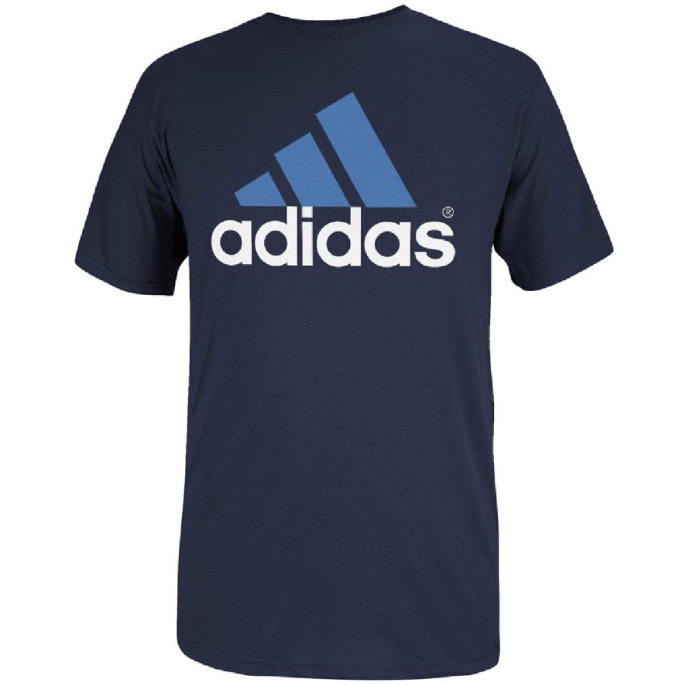 ADIDAS Men's Logo Tee - NAVY/WHITE