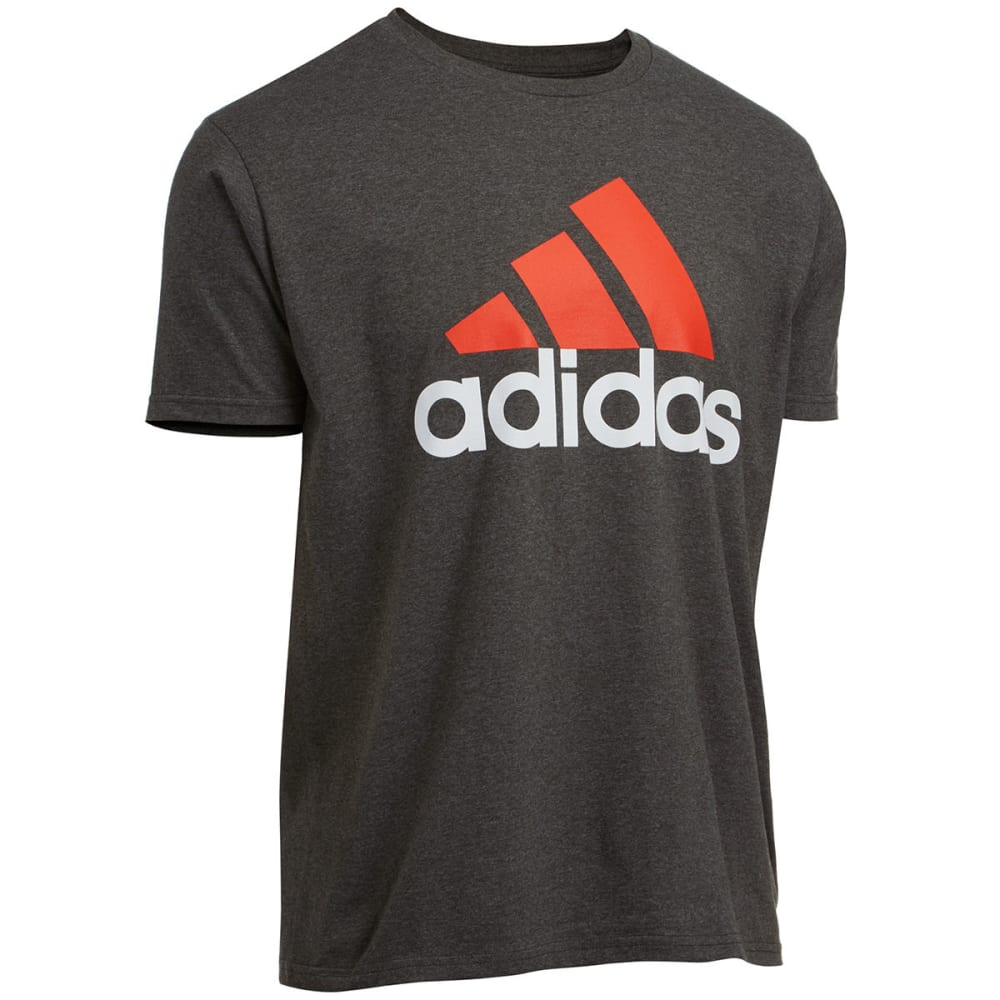 Adidas Men's Logo Tee - Black, S