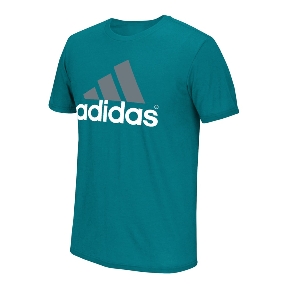 ADIDAS Men's Logo EQT Short-Sleeve Shirt - EQT GREEN/GRY-ETG