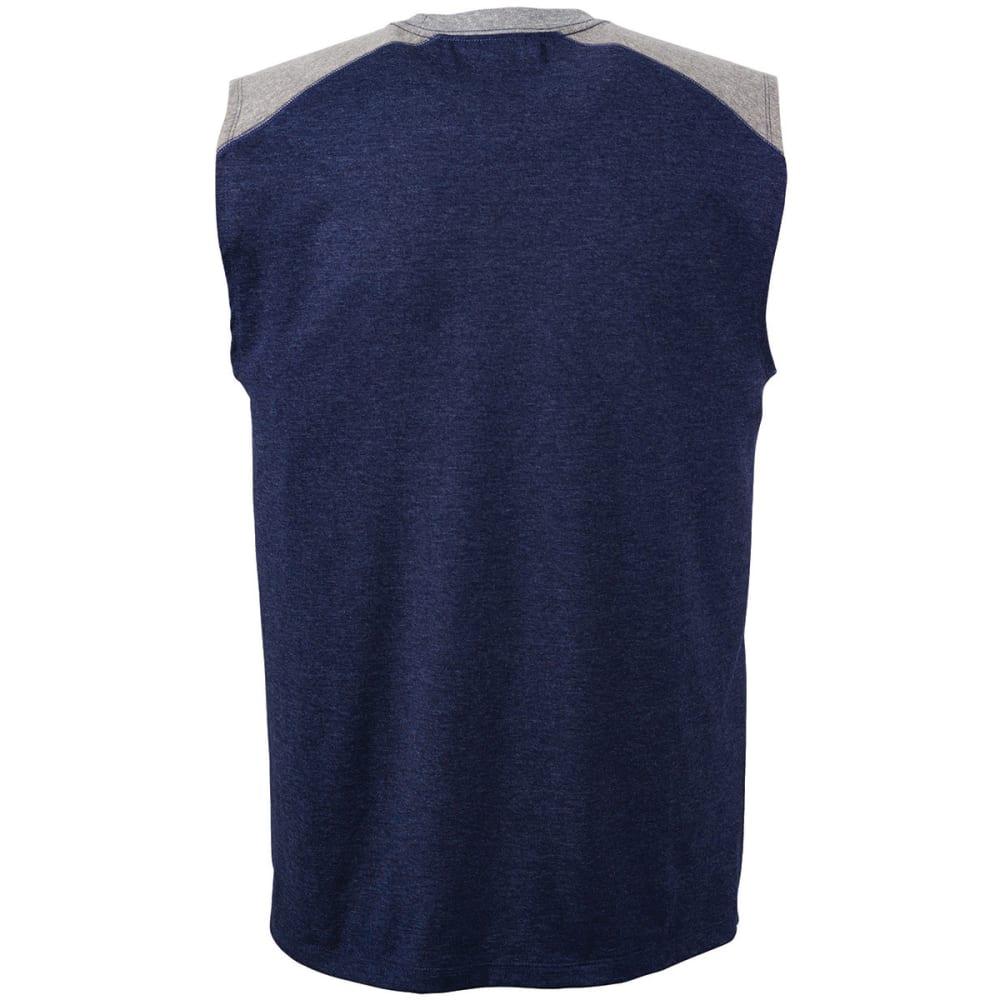 CHAMPION Men's Vapor® Cotton Muscle Tank - NAVY HEATHER-9Z2