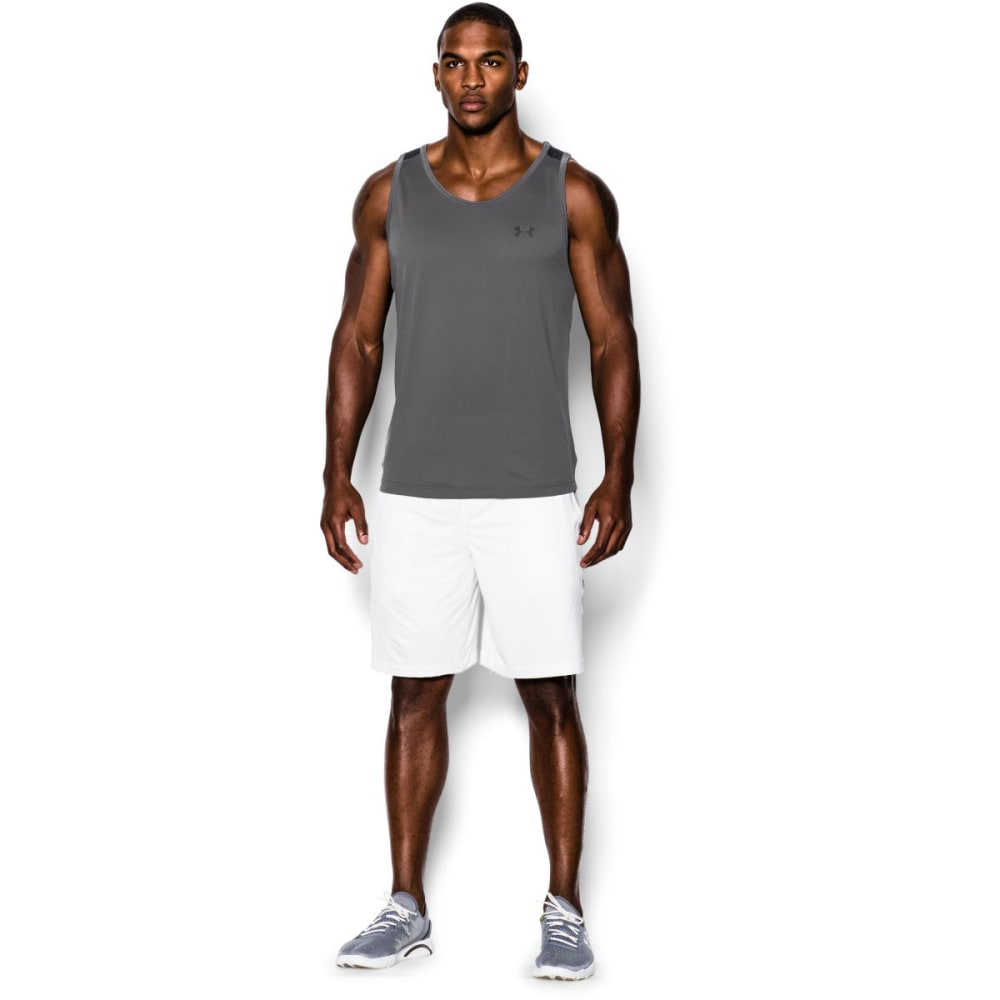 UNDER ARMOUR Men's UA Tech™ Tank - GRAPHITE-041