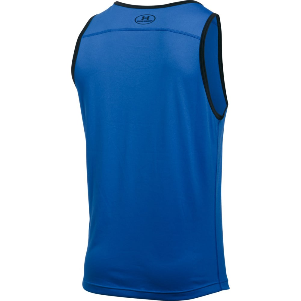 UNDER ARMOUR Men's UA Tech™ Tank - BLUE MARKER-789
