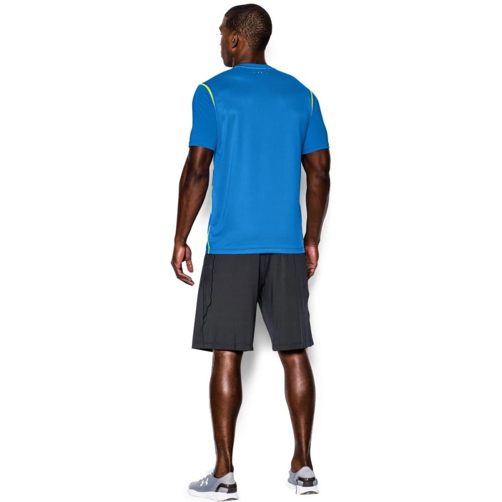 UNDER ARMOUR Men's UA PIP Raid Short Sleeve Tee - BLUE JET-405