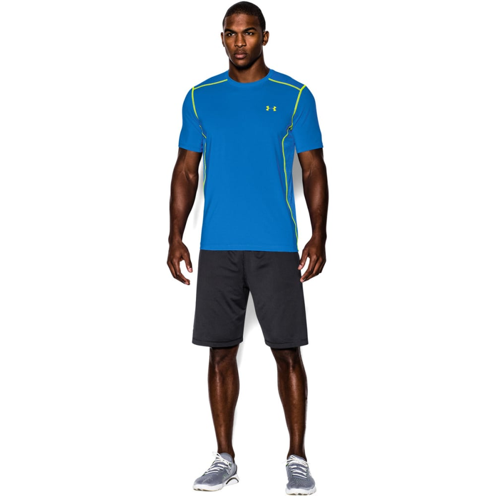 UNDER ARMOUR Men's UA PIP Raid Short Sleeve Tee - BLUE JET-405