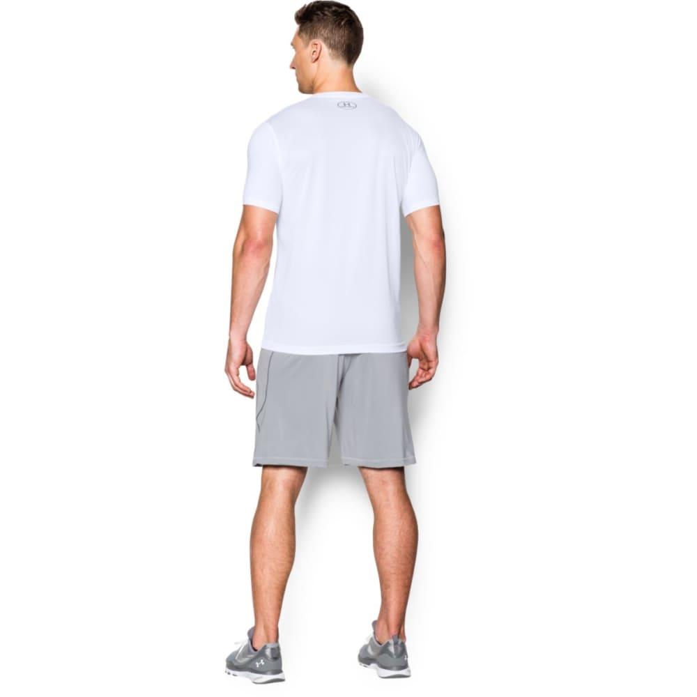 UNDER ARMOUR Men's Short-Sleeve Raid Tee - WHITE-100
