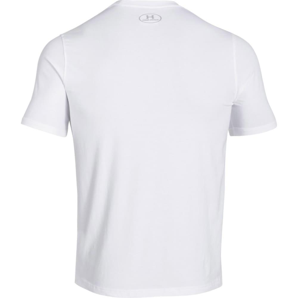 UNDER ARMOUR Men's Sportstyle Logo Tee - WHITE/GRAPHITE-100
