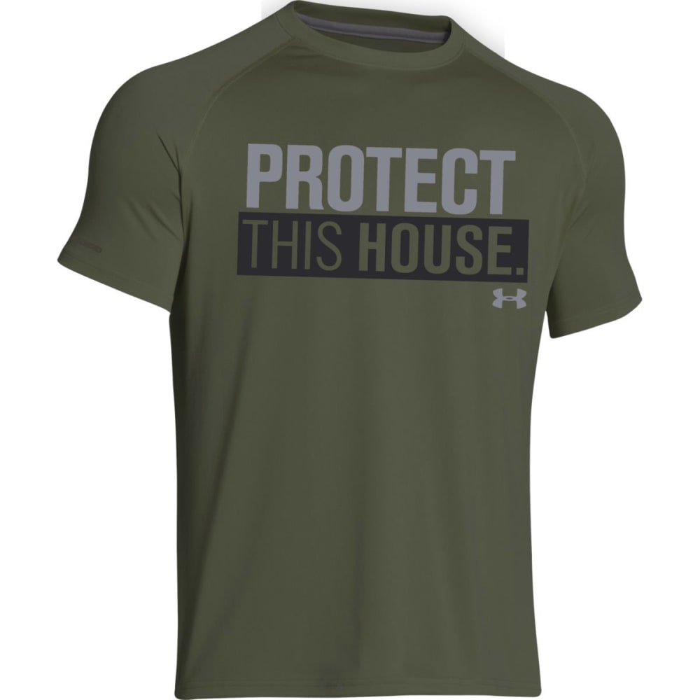 UNDER ARMOUR Men's Protect This House® T - ROUGH/BLACK-334