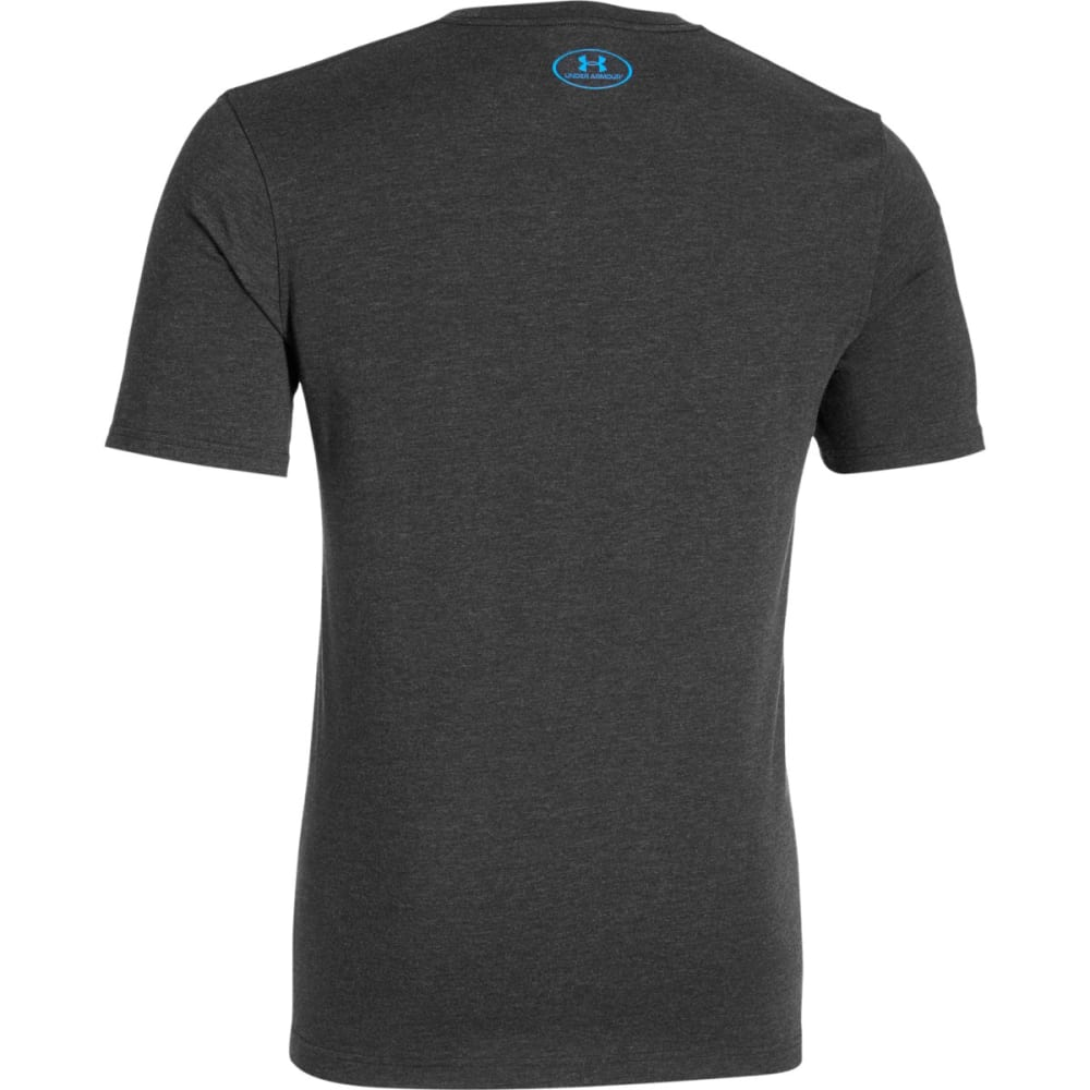 UNDER ARMOUR Men's UA Charged Cotton® Sportstyle Short-Sleeve Tee - BLACK