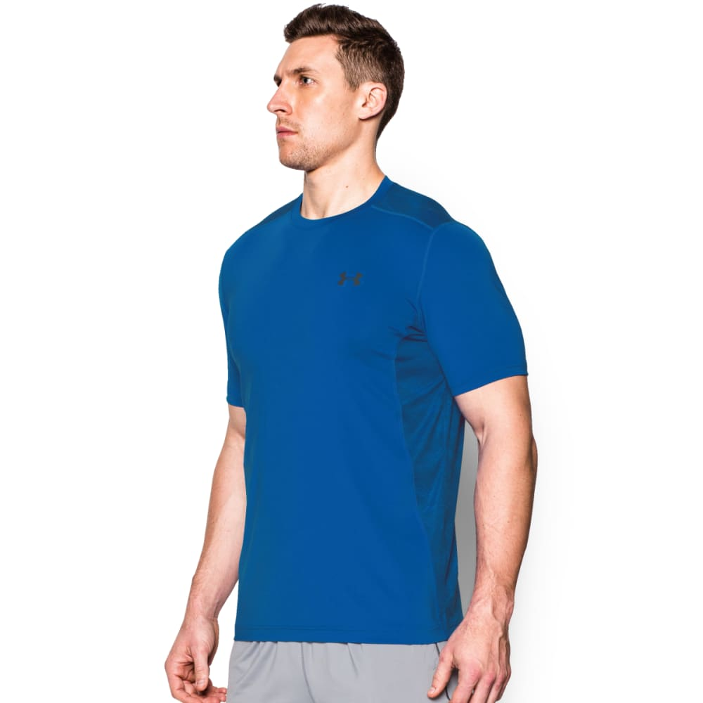 UNDER ARMOUR Men's Raid Tee - ULTRA BLUE-907