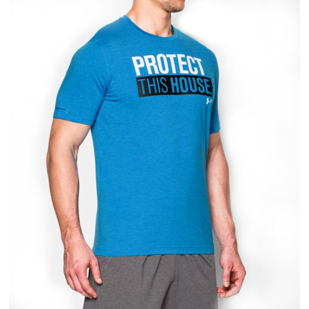 UNDER ARMOUR Men's Short Sleeve PTH® T-Shirt - ELECTRIC BLUE-428