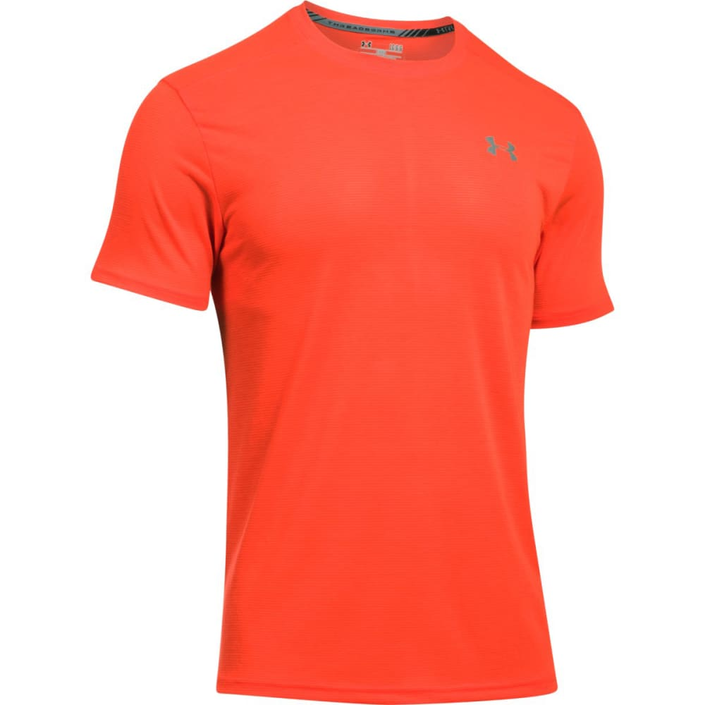 UNDER ARMOUR Men's Streaker Short Sleeve Tee - PHOENIX FIRE-296