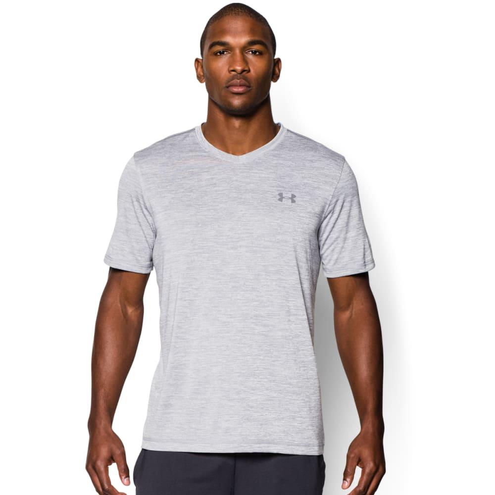 UNDER ARMOUR Men's Short Sleeve UA Tech™ V-Neck T-Shirt - STEEL-035