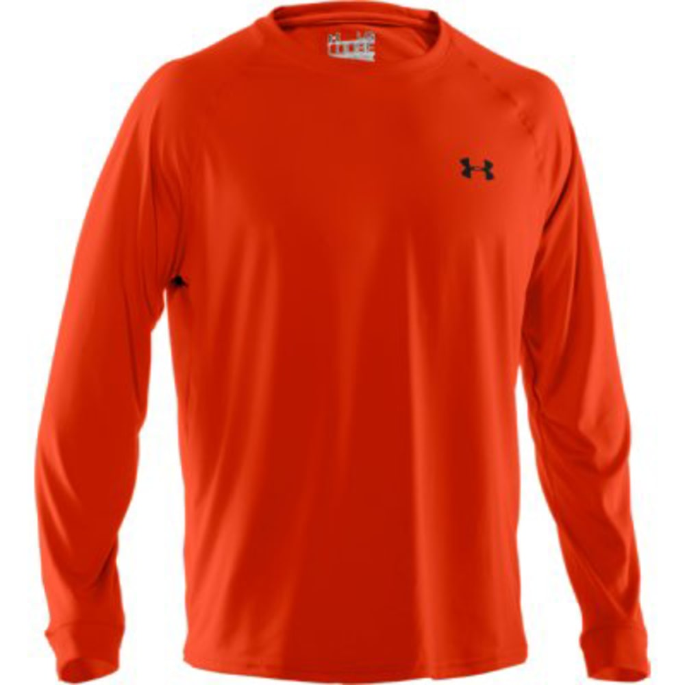 UNDER ARMOUR Men's Tech™ Long Sleeve T-Shirt - TANDORI