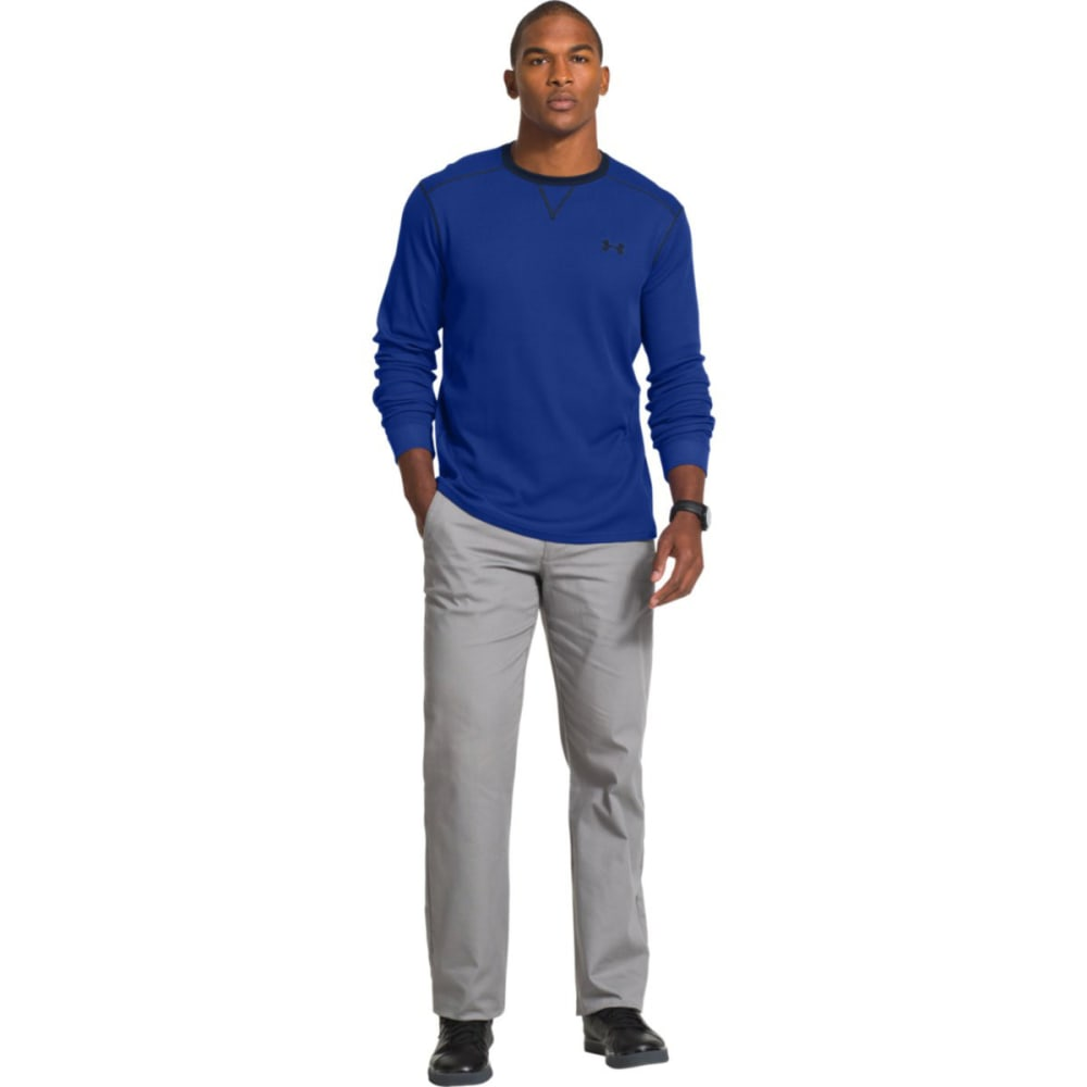Under Armour Men's UA Amplify LS Thermal Top - ROYAL BLUE