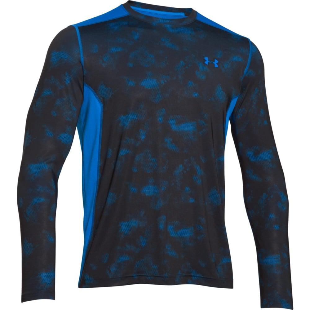 UNDER ARMOUR Men's Raid Long Sleeve Tee - BLUE JET/BLACK-405
