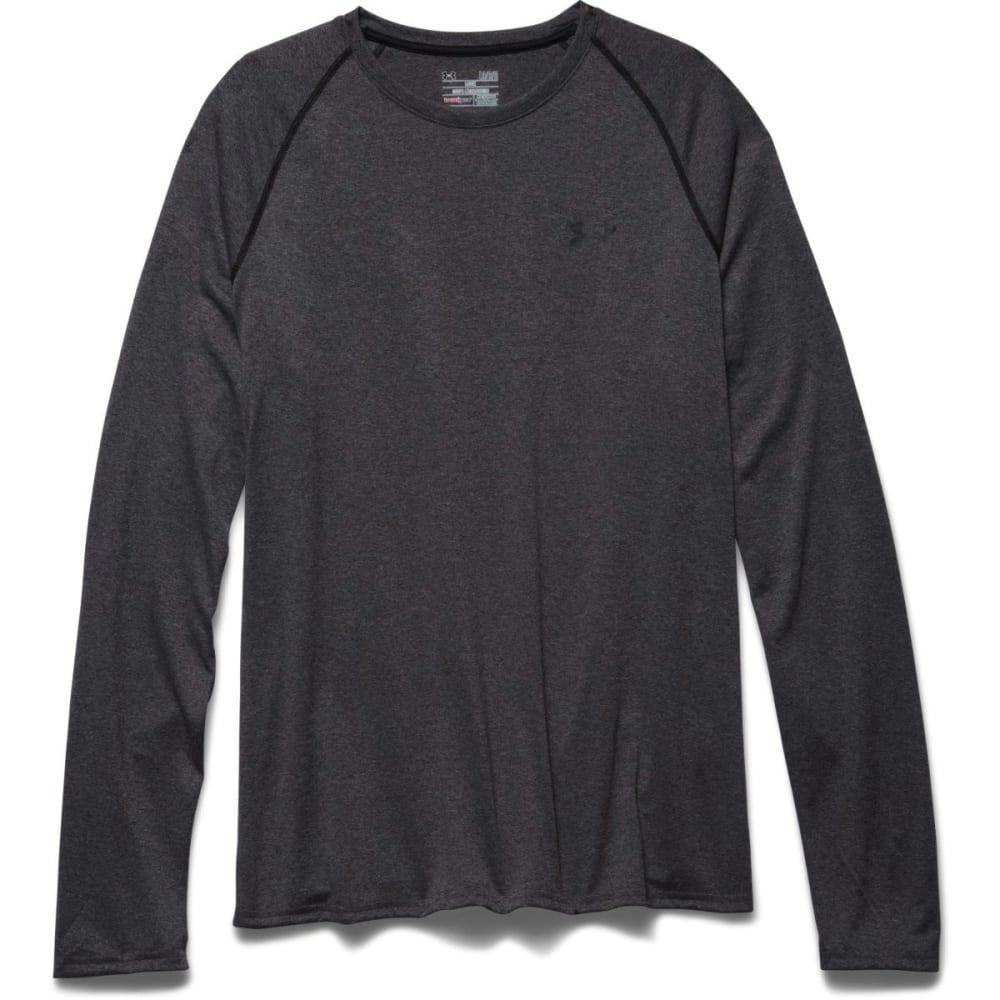 UNDER ARMOUR Men's UA Tech™ Long Sleeve Shirt - CARBON HEATHER-090