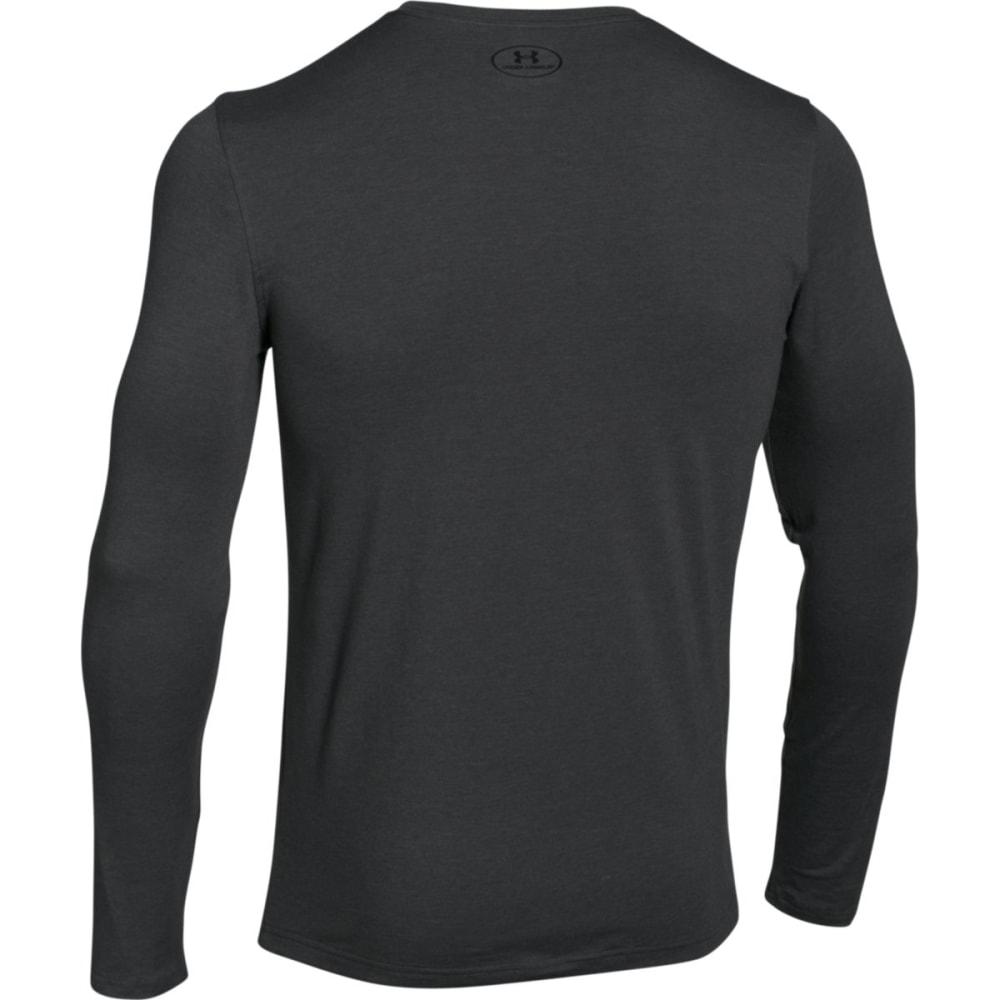 UNDER ARMOUR Men's UA Sport Style Long Sleeve T-Shirt - CARBON HTHR/BLK-090