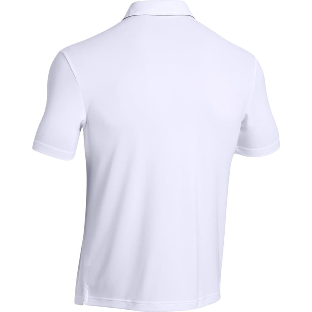 UNDER ARMOUR Men's Leaderboard Polo Shirt - WHITE-100