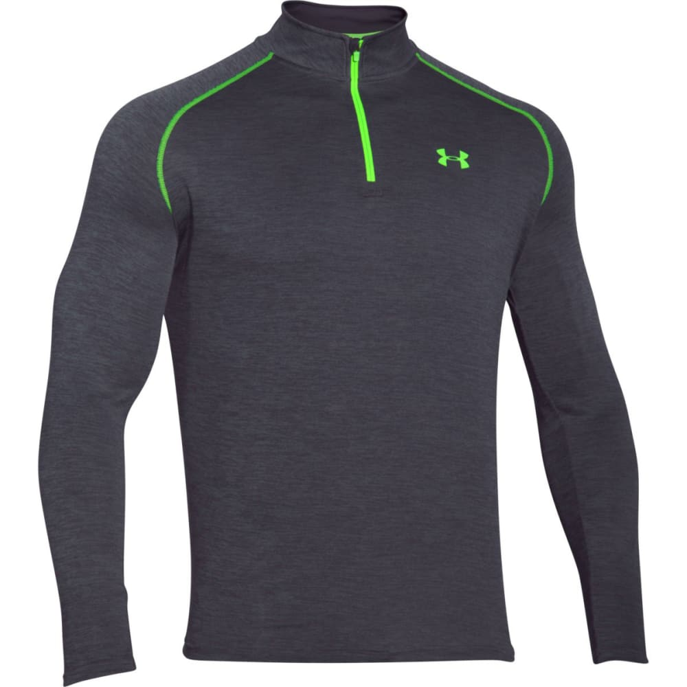 UNDER ARMOUR Men's Tech 1/4 Zip - STEALTH GRY TWST-011