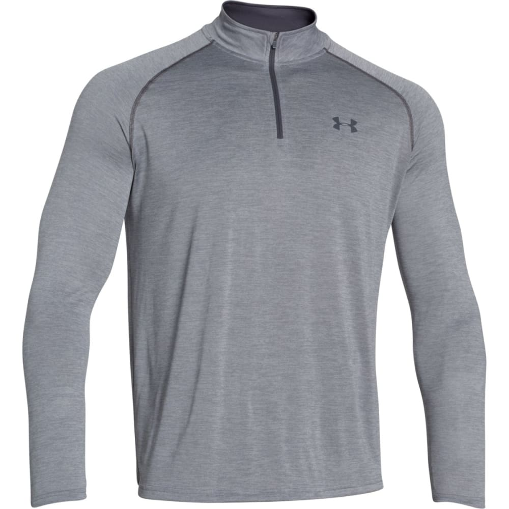UNDER ARMOUR Men's Tech™ ¼ Zip - STEEL/STEALTH-039