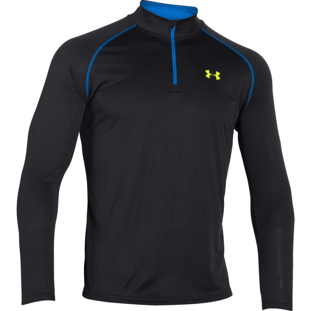 UNDER ARMOUR Men's Tech™ ¼ Zip - BLK/BLUJET-010