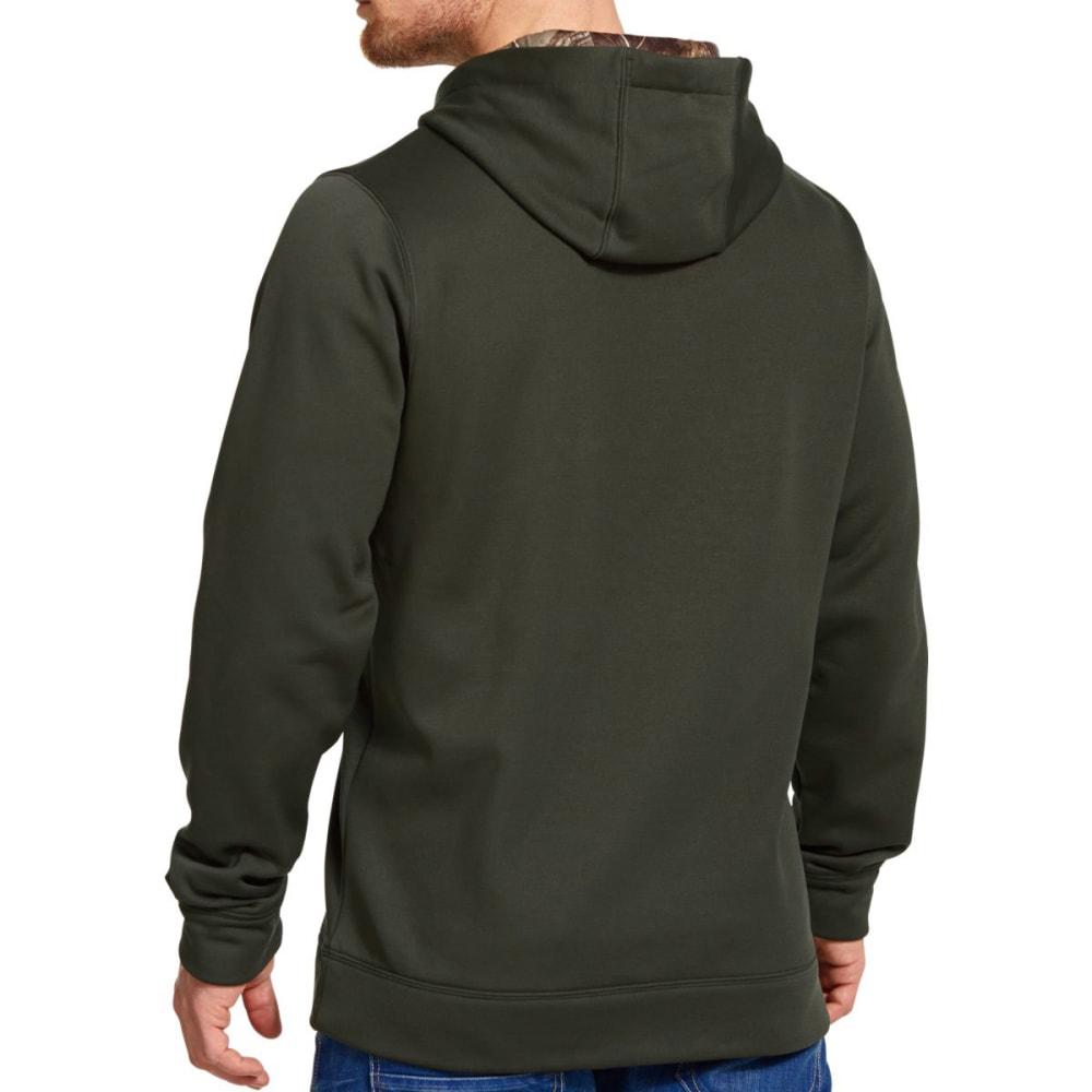 UNDER ARMOUR Men's Storm Armour® Fleece Caliber Hoodie - RIFLE GREEN