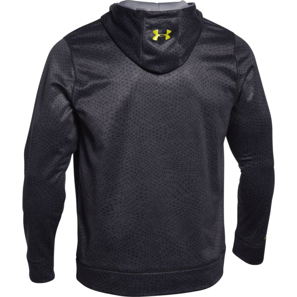 UNDER ARMOUR Men's Storm Big Logo Print Hoodie - STEALTH-008