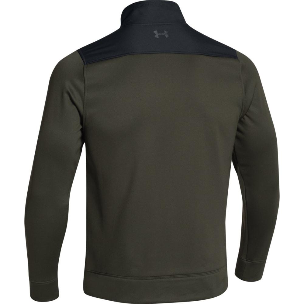 UNDER ARMOUR Amour Fleece Full Zip Jacket - RIFLE GREEN-308