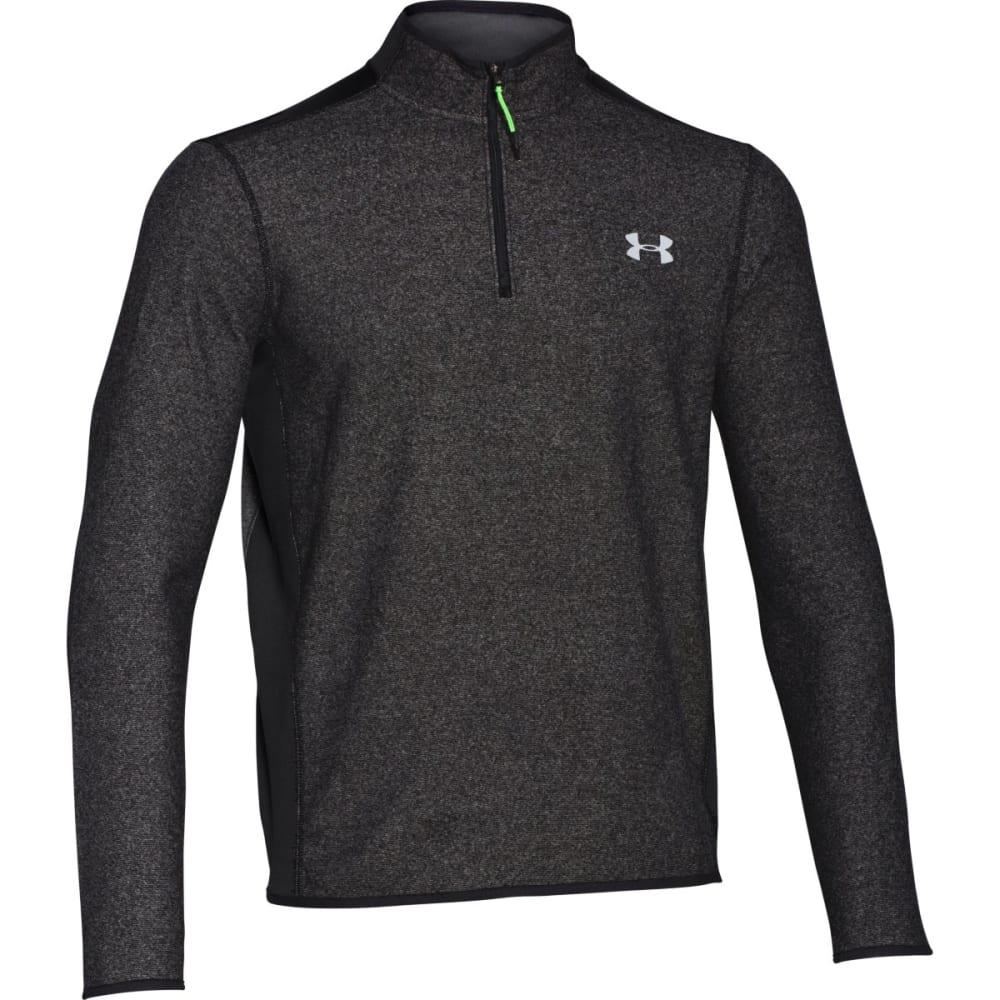 UNDER ARMOUR Men's ColdGear® Infrared Performance Fleece ¼ Zip Jacket - BLACK-001