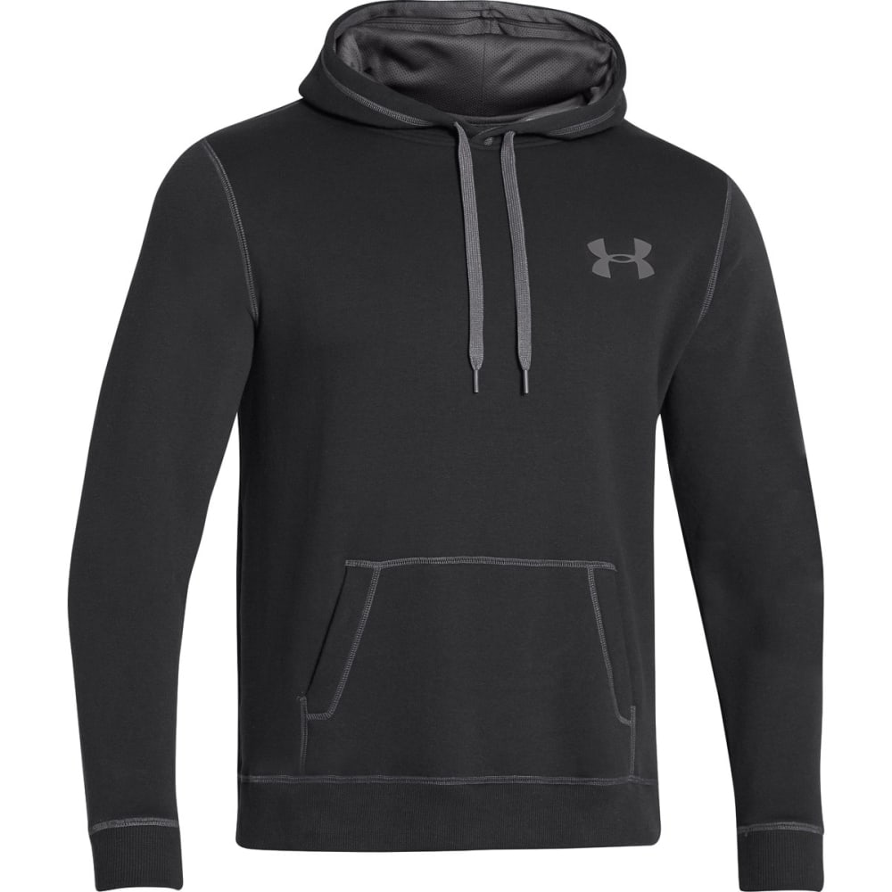 UNDER ARMOUR Men's UA Rival Hoodie - BLACK-001