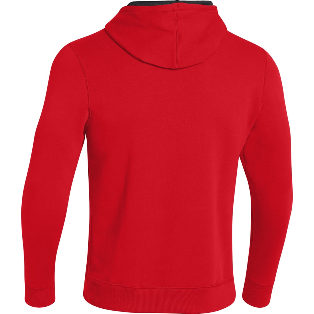 UNDER ARMOUR Men's UA Rival Hoodie - RED