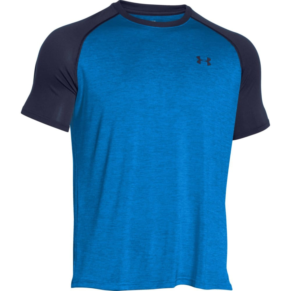 UNDER ARMOUR Men's Tech Tee - ELECTRIC BLUE-433