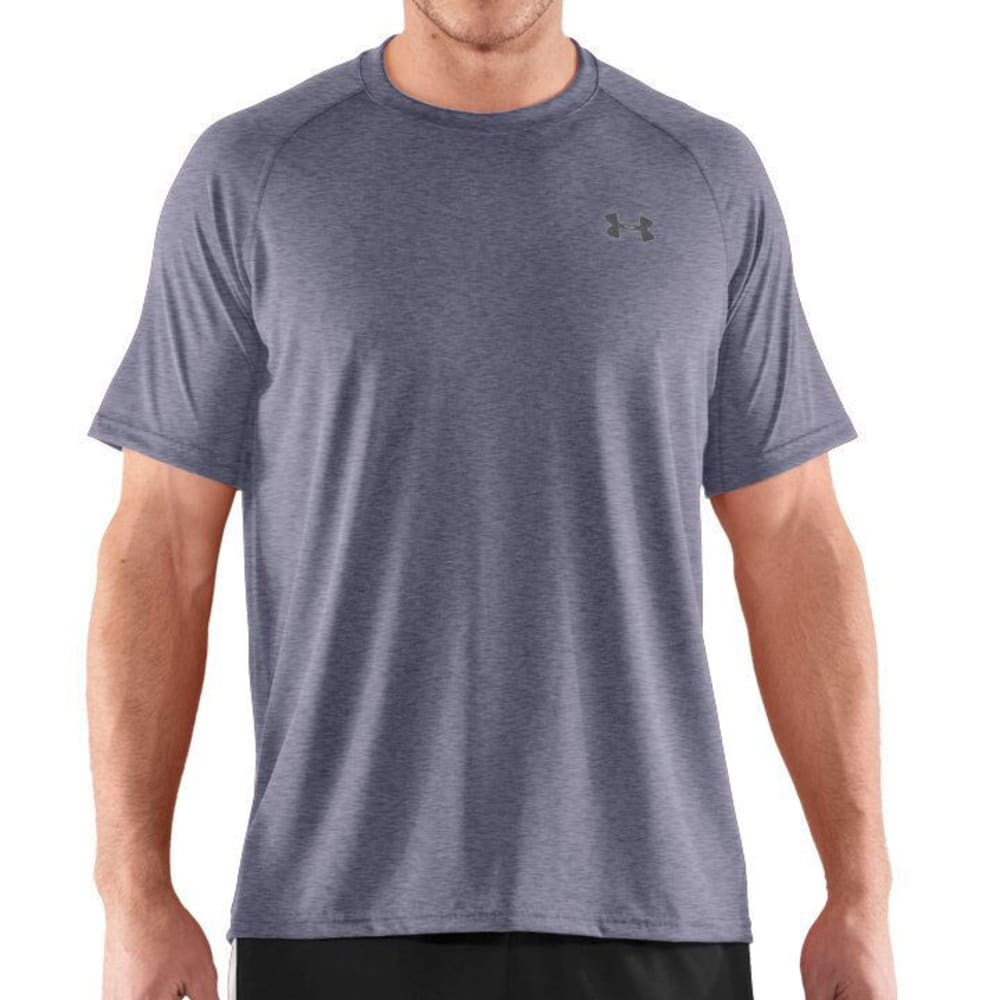 UNDER ARMOUR Men's Tech Tee - ANCHOR BLUE