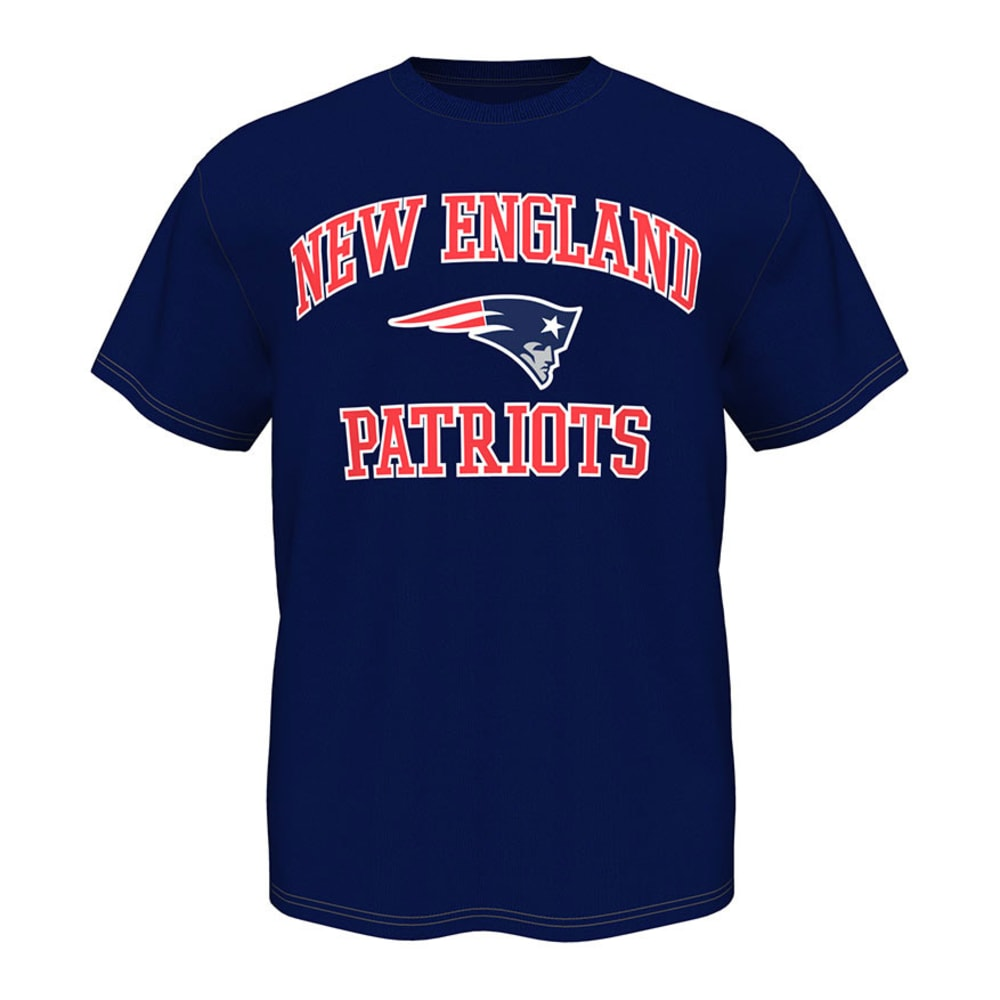 NEW ENGLAND PATRIOTS Men's Heart and Soul Tee - NVY K952-4506-8K-AU