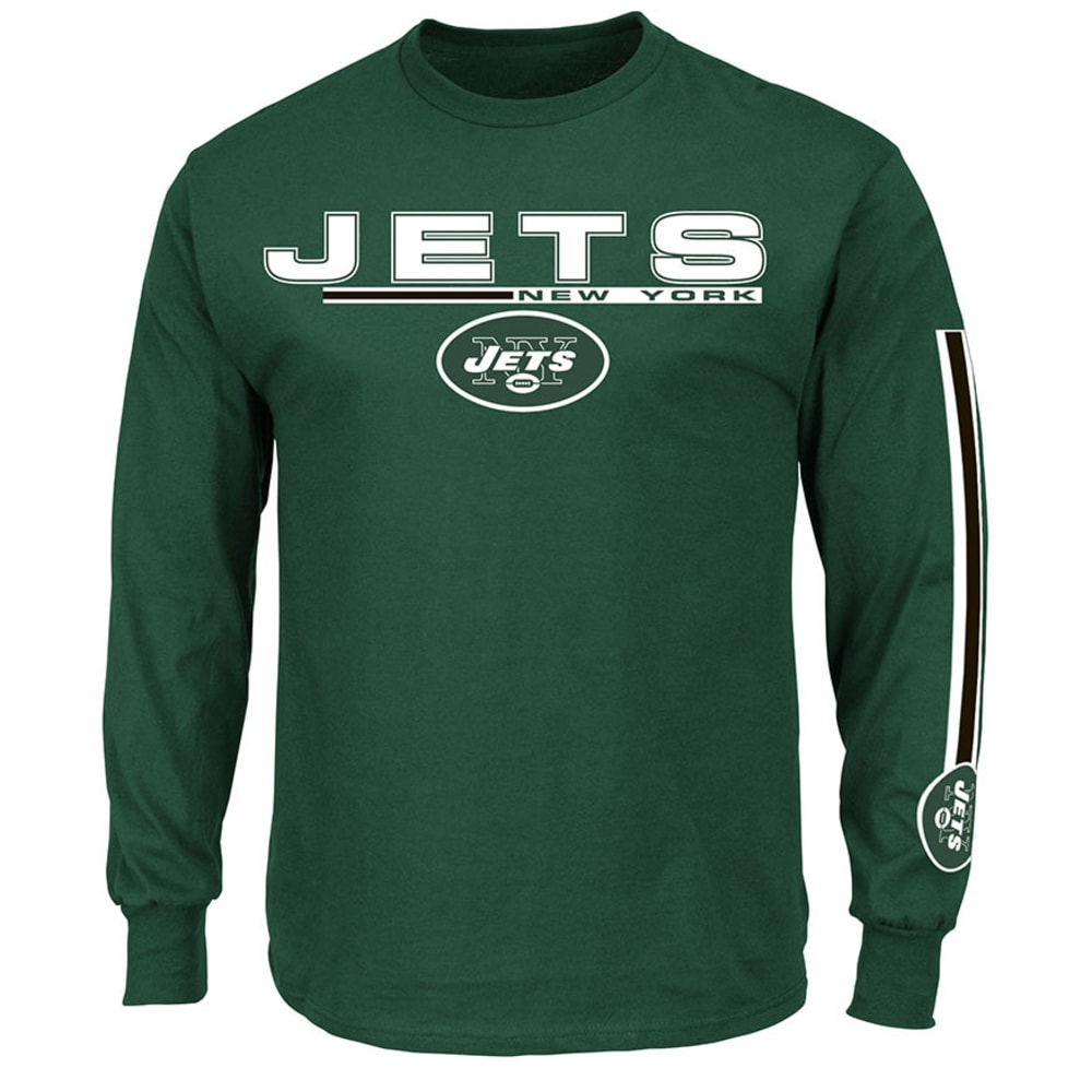 NEW YORK JETS Men's Primary Receiver Tee - DARK GREEN