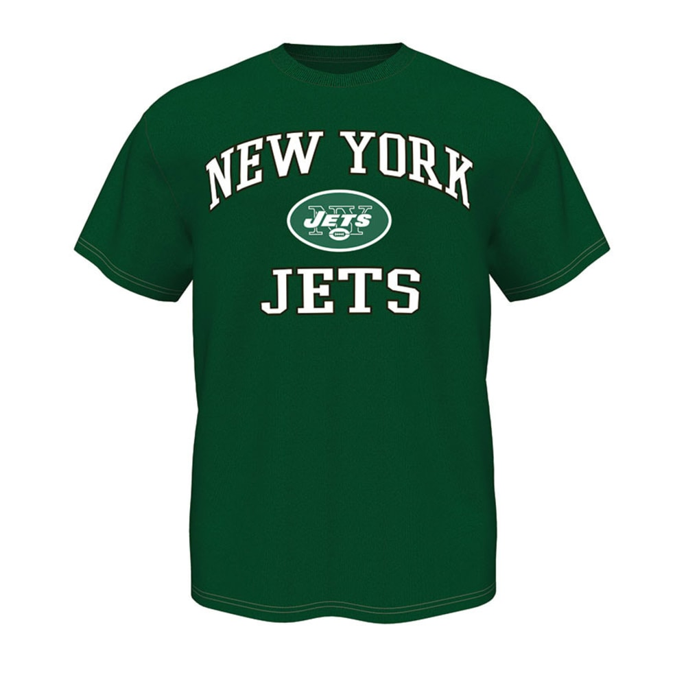 NEW YORK JETS Men's Heart and Soul Tee - DARK GREEN