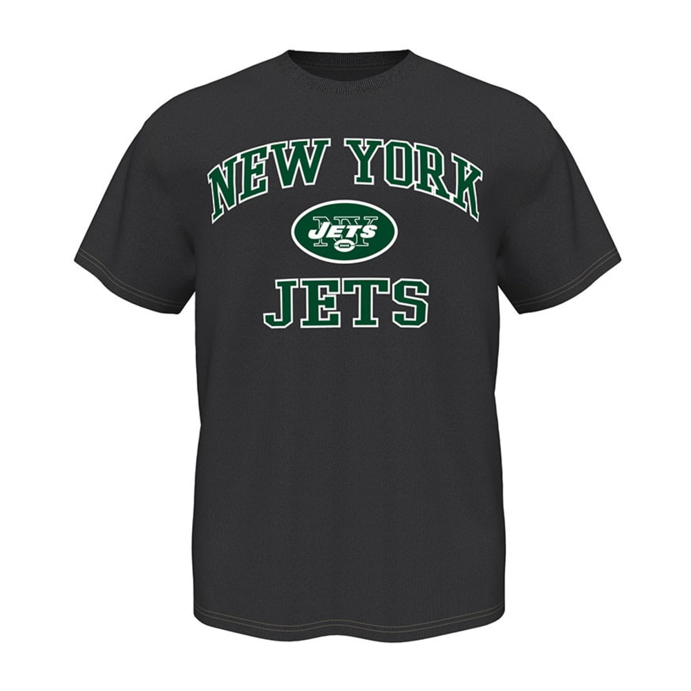 NEW YORK JETS Men's Heart and Soul Tee - CHARCOAL HEATHER