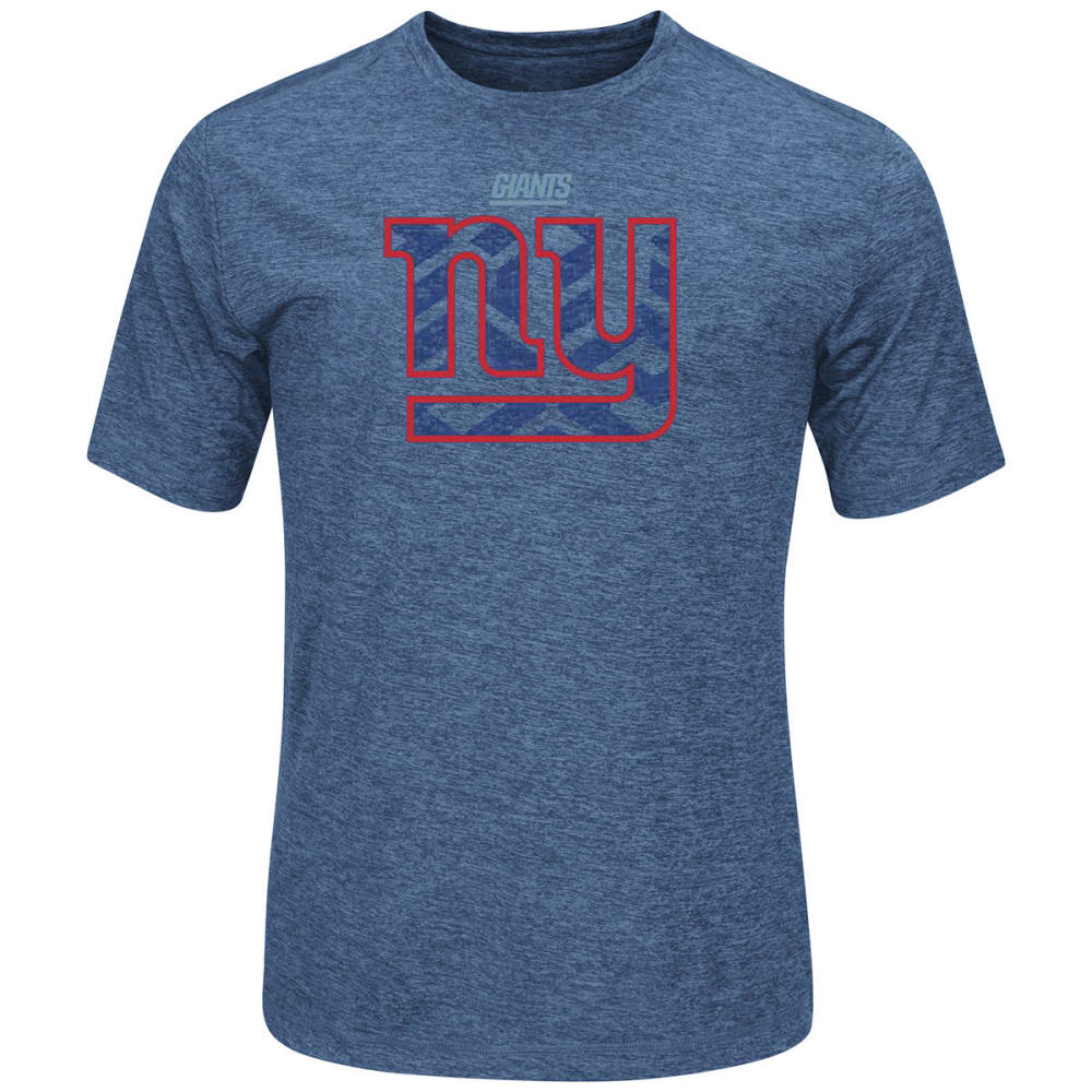 THE NEW YORK GIANTS Men's Breakaway Speed Short Sleeve Tee Shirt - ROSE OF SHARON
