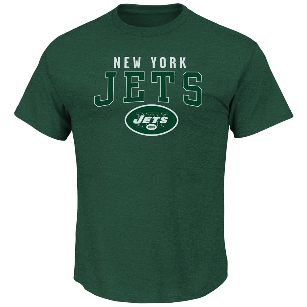 NEW YORK JETS Men's Red Zone Opportunity Short-Sleeve Tee - INK BLUE