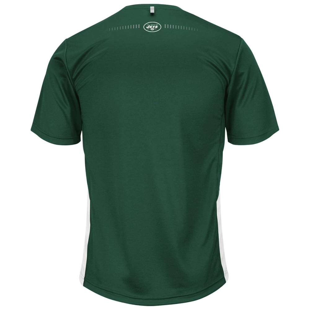 NEW YORK JETS Men's To The Limits Synthetic Tee - GREEN