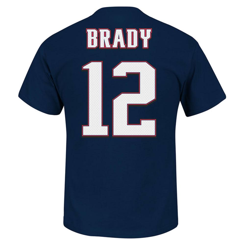 NEW ENGLAND PATRIOTS Men's Tom Brady #12 Eligible Receiver Tee - PATS NAVY