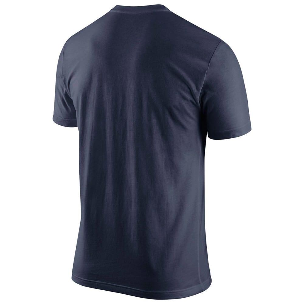 UCONN Men's Nike Huskies Wordmark Tee - NAVY