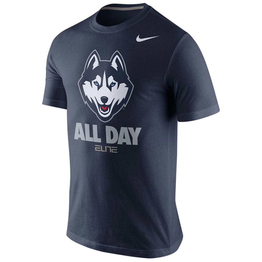 UCONN Men's Nike Basketball Team Tee - NAVY
