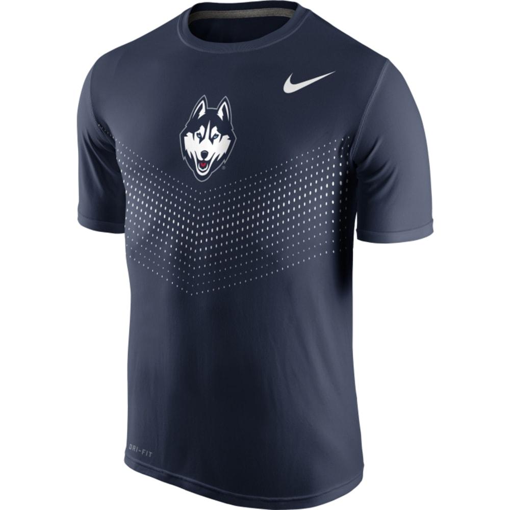 UCONN Men's Nike Sideline Legend Tee - NAVY