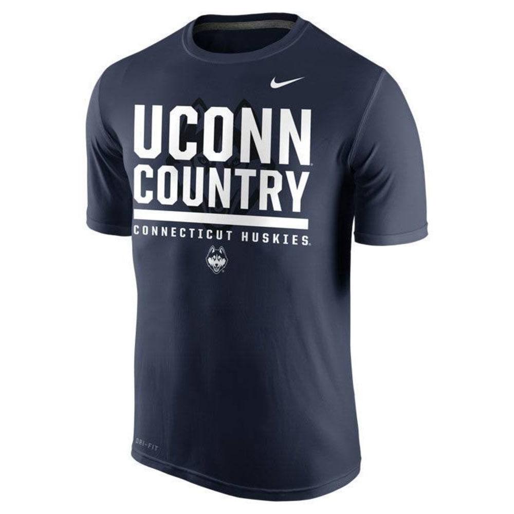 UCONN Men's Nike College Legend Tee - NAVY