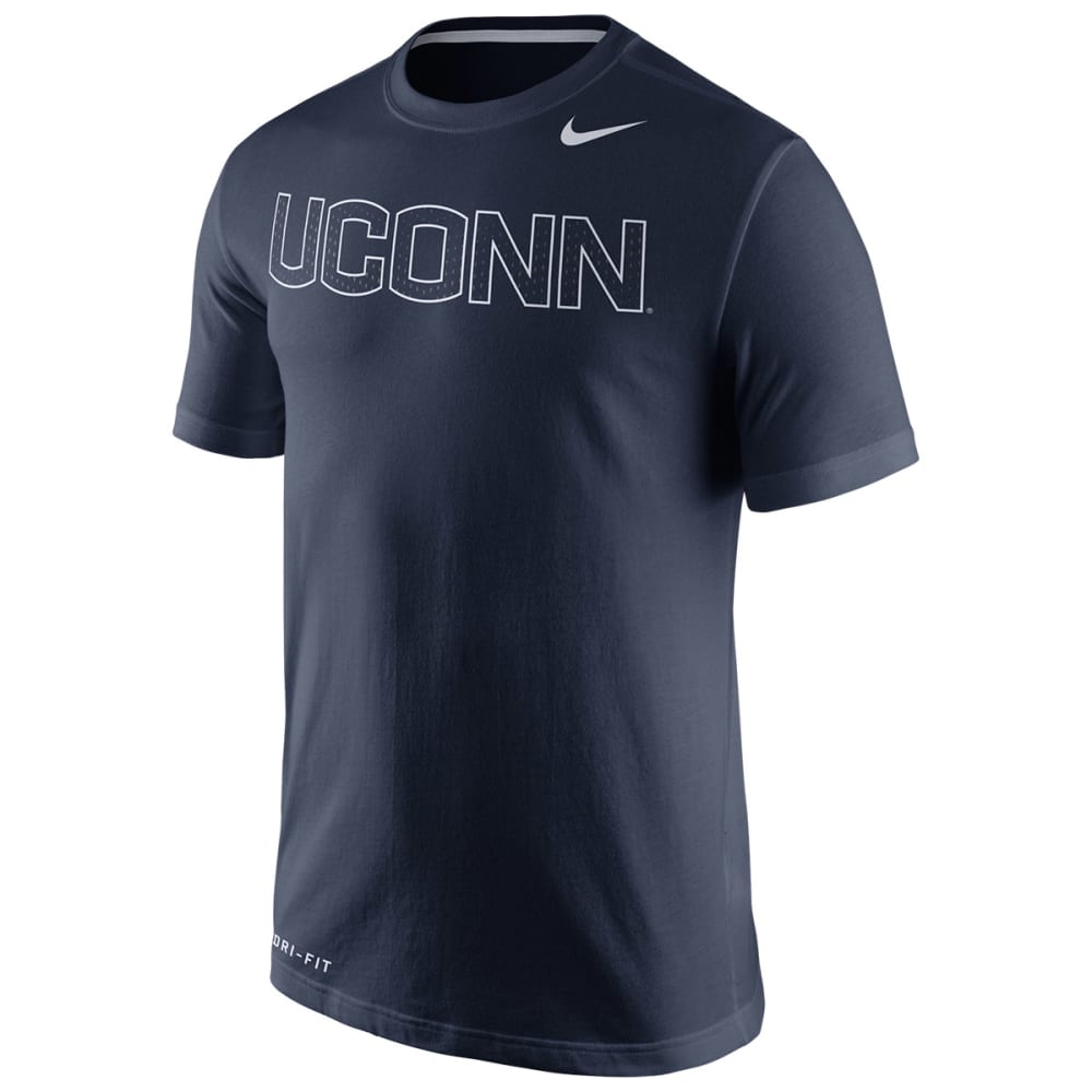 NIKE Men's UConn Huskies Dri-Fit Tee - NAVY