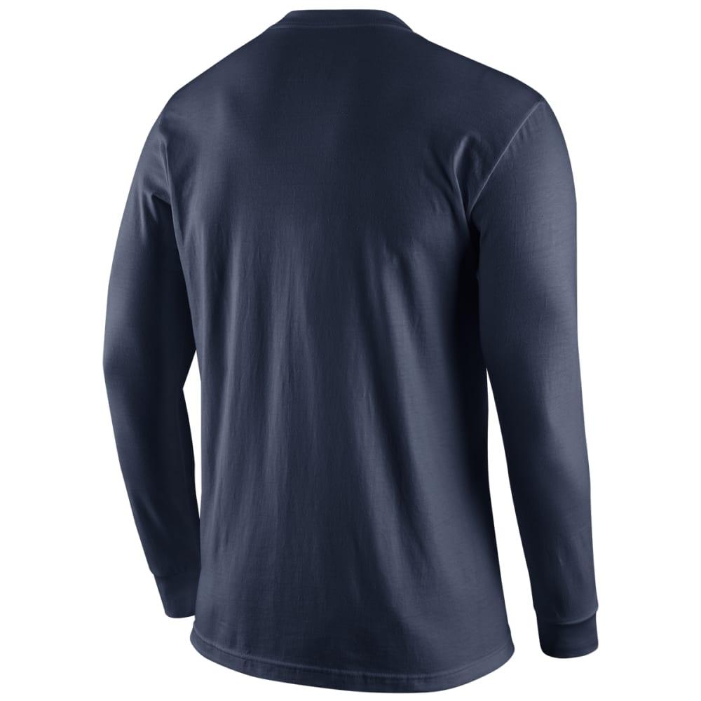 UCONN Men's Logo Long-Sleeve Tee - NAVY